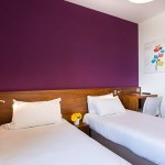 2 lits simples hotel econuit guerande