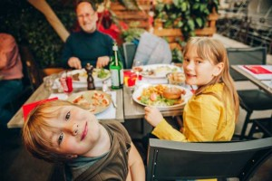 Vacances en famille resturant kid friendly